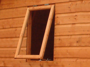 Garden Shed Windows strong 3mm thick Perspex.