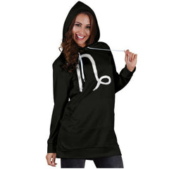 capricorn womens' zodiac sign hoodie dress
