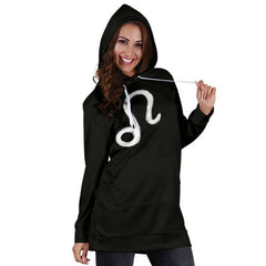 womens' zodiac sign hoodie dress