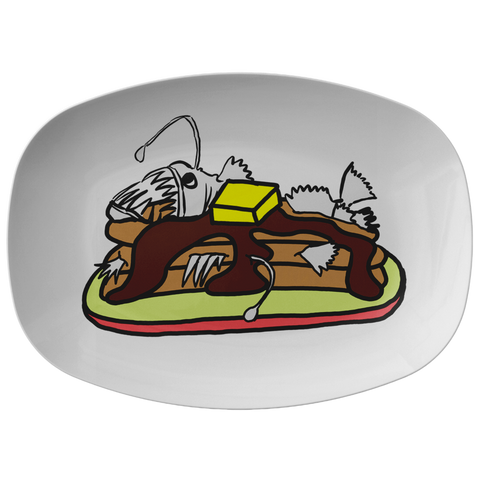 Anglerfish Pancakes Platter - Sundogsfire Variety Gifts, Apparel and Accessories