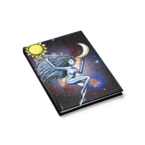 Sun and Moon Journal - Ruled Line - Sundogsfire Variety Gifts, Apparel and Accessories