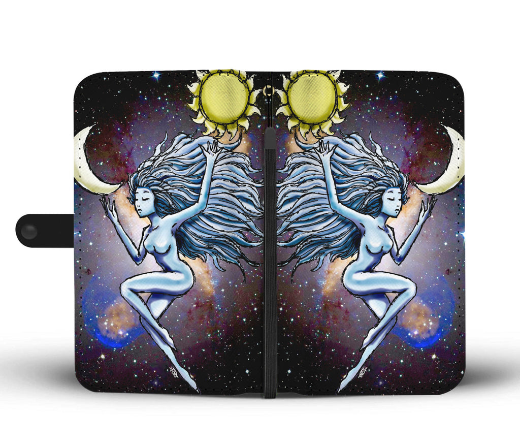 Sun and Moon Wallet Case - Sundogsfire Variety Gifts, Apparel and Accessories
