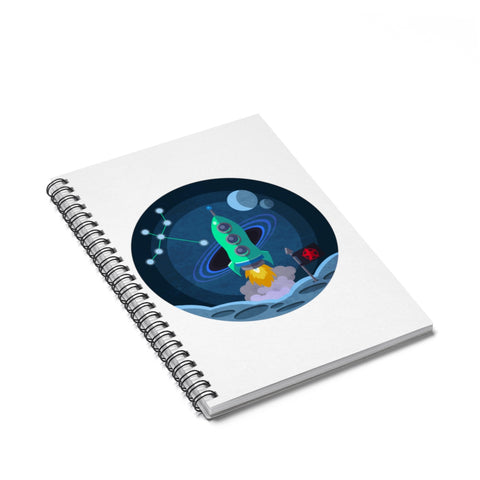 Cygnus Spiral Notebook - Sundogsfire Variety Gifts, Apparel and Accessories