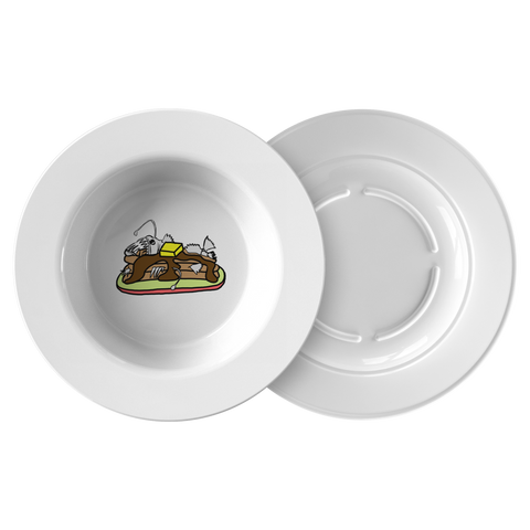 Anglerfish Pancakes Bowl - Sundogsfire Variety Gifts, Apparel and Accessories