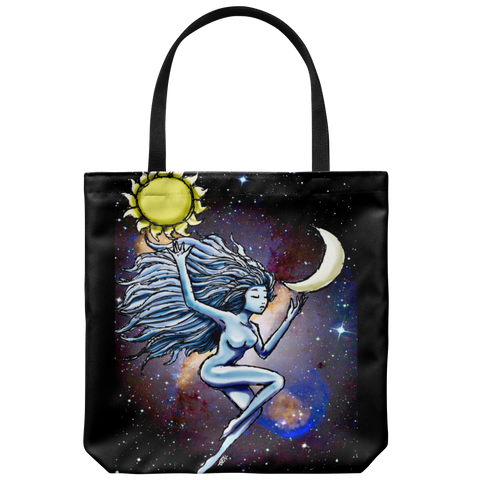 Sun and Moon Tote - Sundogsfire Variety Gifts, Apparel and Accessories