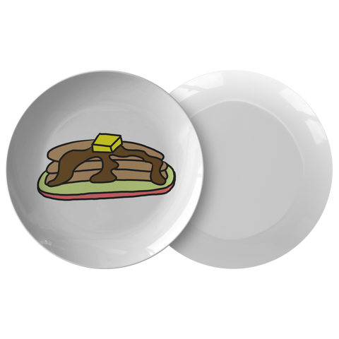 Pancake 4 Table Plate Ver 2 - Sundogsfire Variety Gifts, Apparel and Accessories