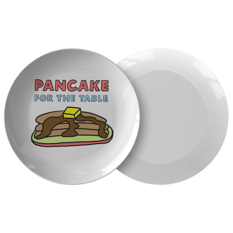 Pancake 4 Table Plate Ver 1 - Sundogsfire Variety Gifts, Apparel and Accessories