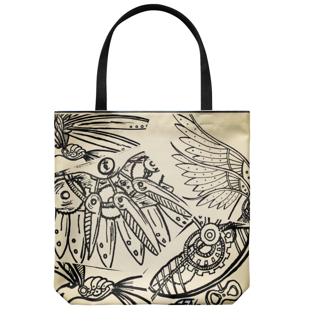 Clockwork Parts Tote - Sundogsfire Variety Gifts, Apparel and Accessories