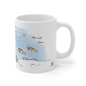 Happiness In Okinawa is...Diving - Mug 11oz