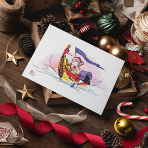 2020 Okinawa Inspired Christmas Gift Card Set - 7 Designs