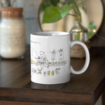 Happiness In Okinawa Is...Tug of War - Mug 11oz