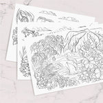 Okinawa Inspired Free Coloring Pages