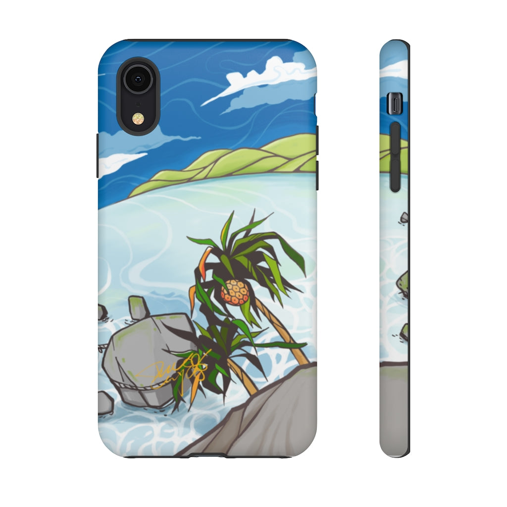 Land of Adan - Okinawa Inspired iPhone and Samsung Touch Case