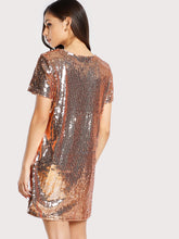 Glam girl Sequin dress