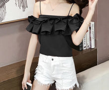 Front frill top