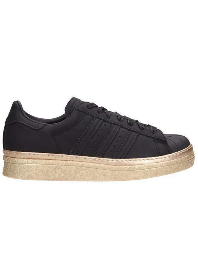 adidas sneakers superstar 80 s new bold in suede nero - Vittorio Citro Boutique