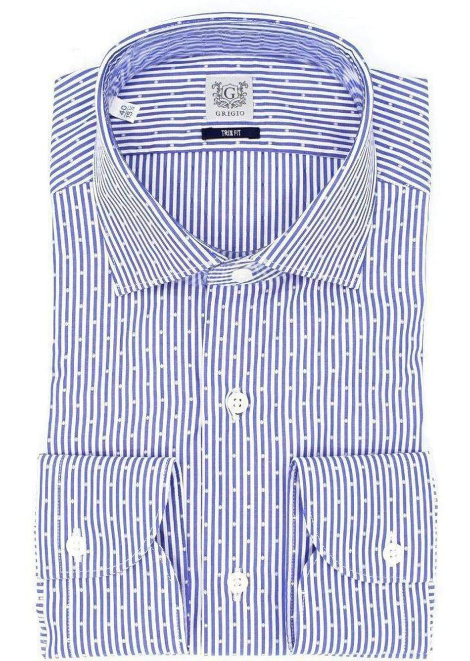 camicia trim-fit GRIGIO - Vittorio Citro Boutique