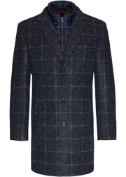cappotto blu scuro BUGATTI - Vittorio Citro Boutique