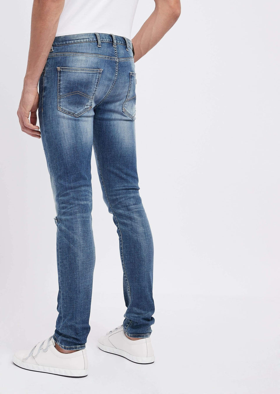 jeans j10 extra slim fit in denim di cotone twill 10 oz EMPORIO ARMANI - Vittorio Citro Boutique