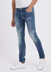 Jeans J10 extra slim fit in denim di cotone twill 10 oz - Vittorio Citro Boutique - EMPORIO ARMANI