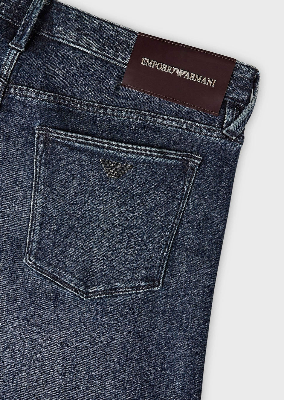 jeans j75 slim fit in denim misto seta EMPORIO ARMANI - Vittorio Citro Boutique