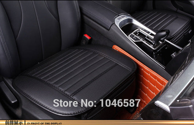 Car Seat Cover Styling Four Seasons Leather Breathable Interior Pad Cushion