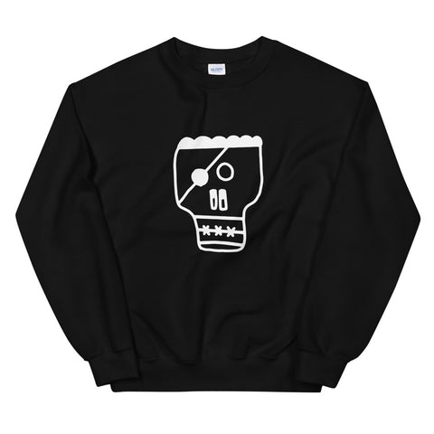 JACK THE GRIM Military Skull Unisex Sweatshirt