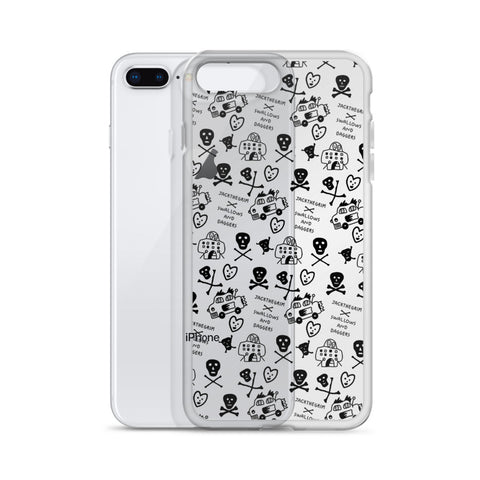 JACK THE GRIM AOP iPhone Case