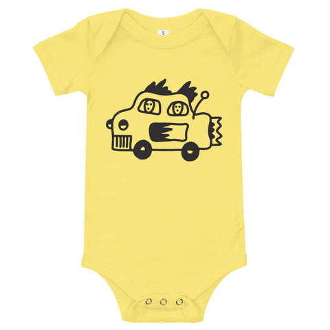 JACK THE GRIM Fast Car Baby Grow