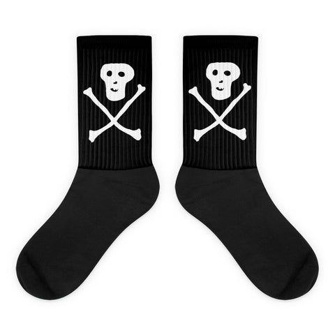 JACK THE GRIM Skull and Cross Bones Socks