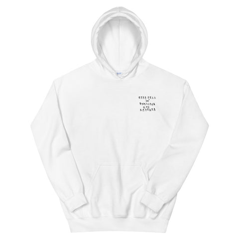 ROSS HELL Rose and Dagger Unisex Hoodie