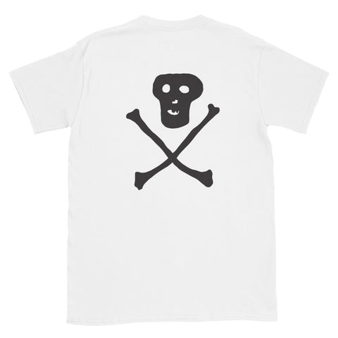 JACK THE GRIM Skull Short-Sleeve Unisex T-Shirt