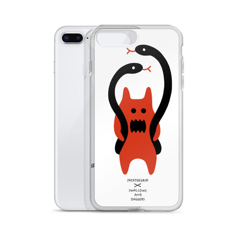 JACK THE GRIM Snake Man iPhone Case