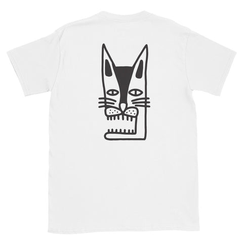 JACK THE GRIM Cat Short-Sleeve Unisex T-Shirt