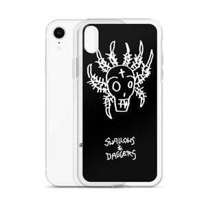 DECAY Skull Spider iPhone Case