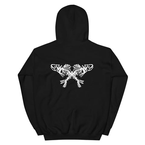 DECAY Crossed Fish Unisex Hoodie
