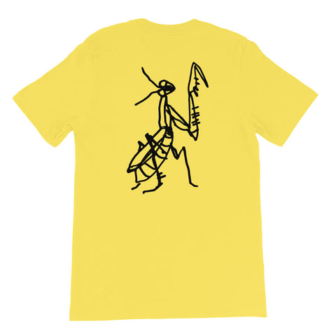 DECAY Praying Mantis Short-Sleeve Unisex T-Shirt