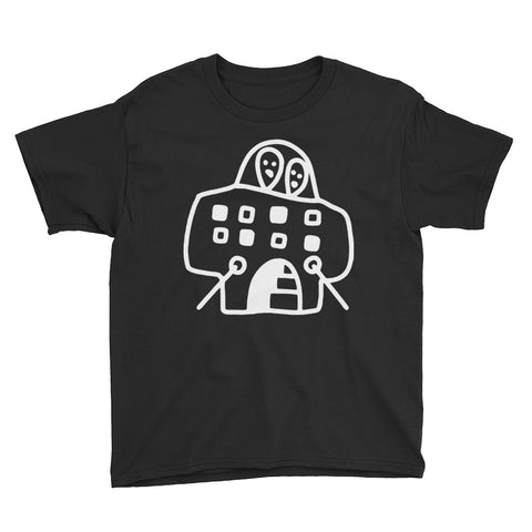 JACK THE GRIM Spaceship Youth Short Sleeve T-Shirt