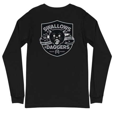 CLASSICS BLACK SHIELD LONG SLEEVE TEE