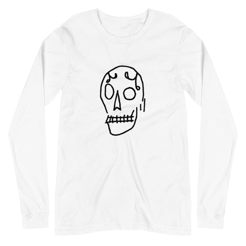 ROSS HELL Skull Unisex Long Sleeve Tee