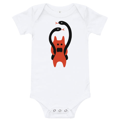 JACK THE GRIM Snake Man Baby Grow