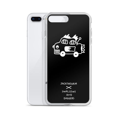 JACK THE GRIM Car iPhone Case