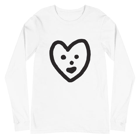 JACK THE GRIM Heart Unisex Long Sleeve Tee