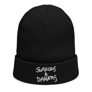 Swallows & Daggers by Ross Hell - UNISEX BEANIE