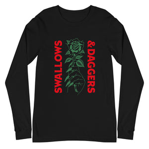 Hand Picked Rose - UNISEX Long Sleeves