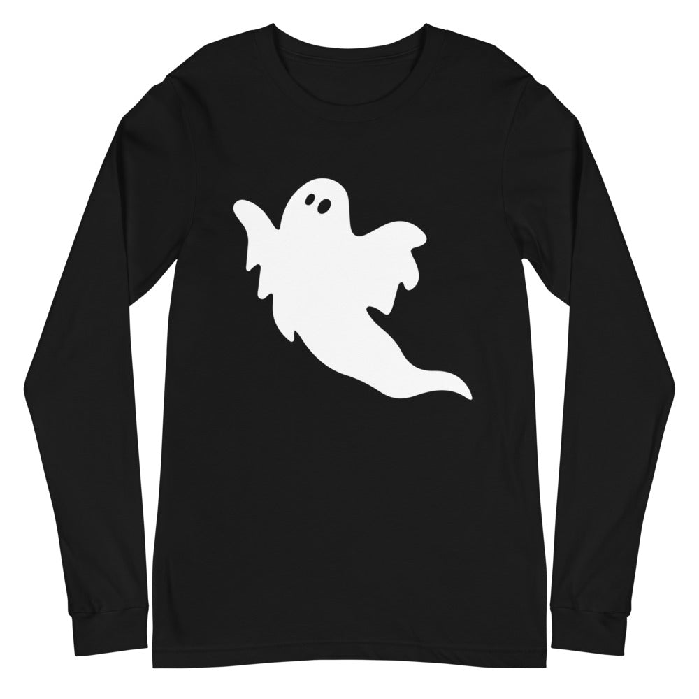 White Ghost - UNISEX Long Sleeves