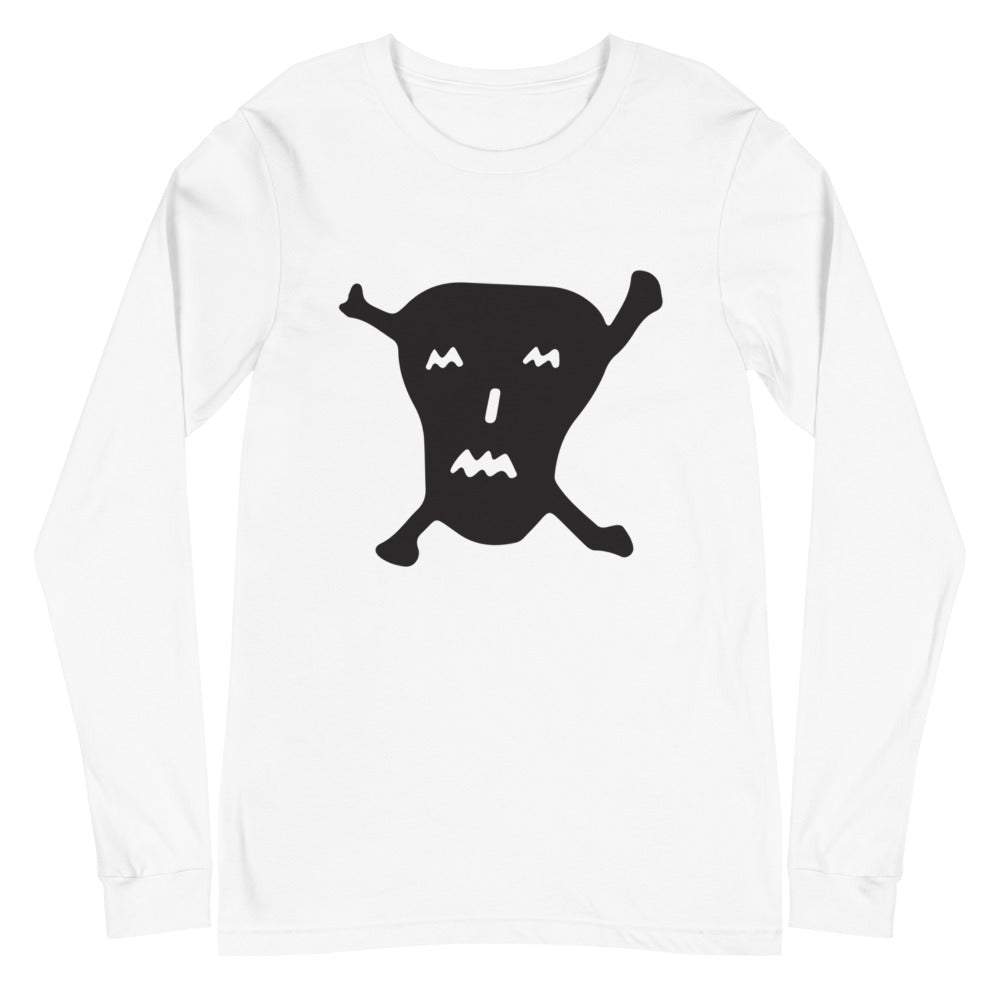 Jack the Grim Black Skull - UNISEX Long Sleeves