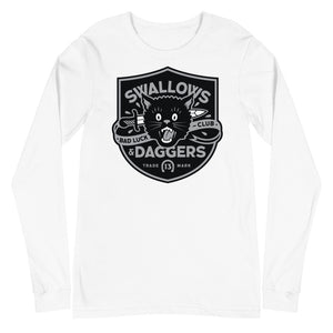 Bad Luck Club Cat - UNISEX LONG SLEEVE