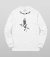 Ross Hell Long Sleeve T-Shirt - White