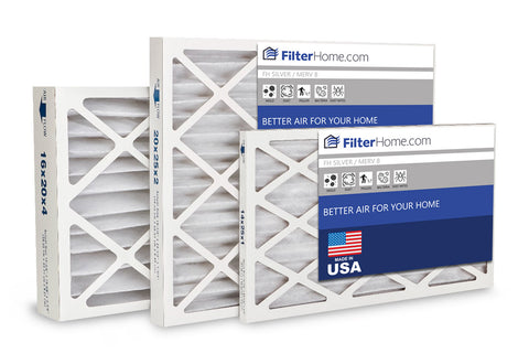 FilterHome Silver MERV 8 Air Filter